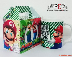 Caneca Super Mario Uso Exclusivo