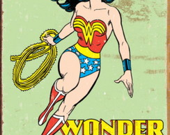 "Placa ""Wonder Woman"""