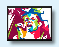 Quadro Michael Jackson - Pop Art