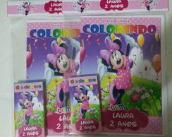 Kit de Colorir DiMagia Minnie Festa