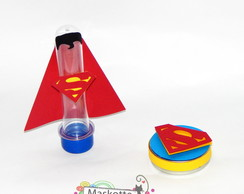 Kit festa Superman latinha + tubete