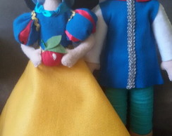 Kit Branca de Neve (11 personagens)