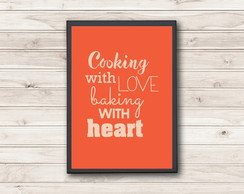 Pôster Cooking with Love