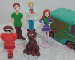 Turma do Scooby-doo e carro