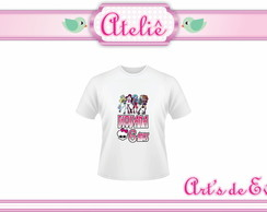 Camiseta Infantil Monster High