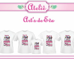 Kit Camiseta monster High
