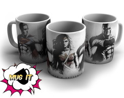 Caneca Branca Batman Vs Superman 3