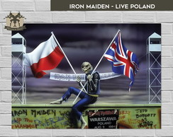 Iron Maiden - Live Poland (42x29,7)