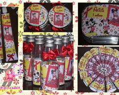 Kit Doce Personalizado - Mickey e Minnie