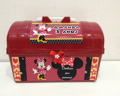 Maleta Baú Mickey e Minnie