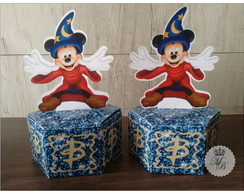 Caixa Hexagono Mickey Mouse