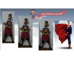 Avental super heroi