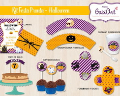 Kit Festa Pronta Halloween
