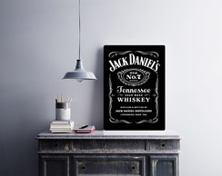 "Placa decorativa ""Jack Daniel's"""
