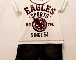 Conjunto Short/Camiseta Eagles