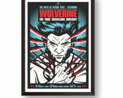 Quadro Decorativo Wolverine PS008