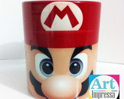 Caneca Colorida Mario Bross
