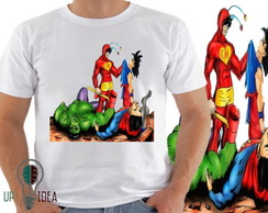 camiseta chapolin dragon ball