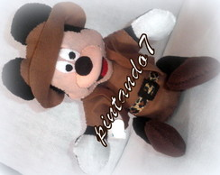Mickey Safari 3d - Centro De Mesa Gd