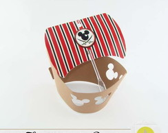 WRAPPER PARA CUPCAKE NAVIO MICKEY PIRATA