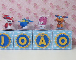 Letras Cubo Super Wings Scrap