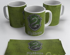 Harry Potter - Sonserina - Caneca