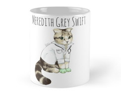 Caneca Grey's Anatomy Dr Meredith Grey