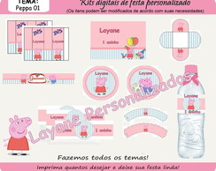 Kit Digital Festa - PEPPA PIG 01