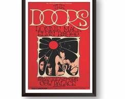 Quadro Decorativo Banda The Doors PS052