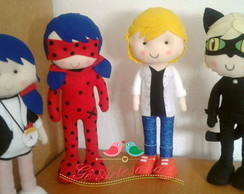 Kit Miraculous 4 personagens