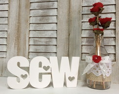 SEW - Letras decorativas