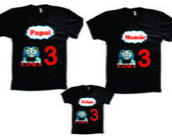 Camisetas para aniversario do Thomas