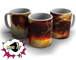 Caneca Branca The Flash