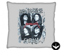 Almofada Metallica And Justice for All