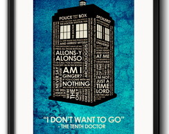 Quadro Doctor Who Serie TV com Paspatur
