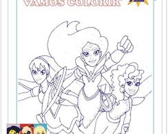 Kits Para Colorir Super Hero Girls No Elo7 Photografit 7e1634