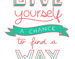 Give Yourself