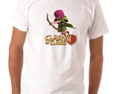 Camisa Clash of Clans Personagem Arqueira Modelo 2