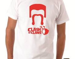 Camiseta Geek Clash of Clans Bárbaro Logo