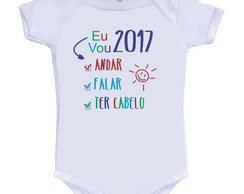 Body /Camisetinha Metas 2017 ano novo