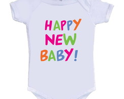 Body /Camisetinha Happy New Baby!
