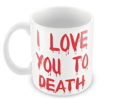 Par de Canecas I Love You To Death