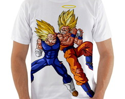 Camiseta Goku vs Vegeta