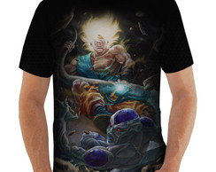 Camiseta Goku vs Freeza