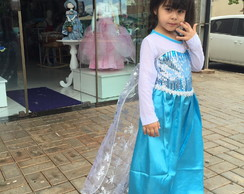 VESTIDO ELSA DO FILME FROZEN