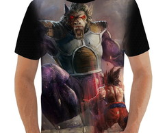Camiseta Goku vs Oozaru Vegeta