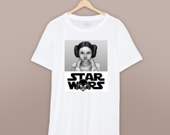 Camiseta Camisa Star Wars Princess