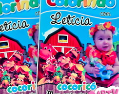 Revista colorir Cocoricó
