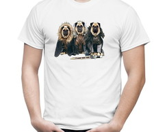 Camiseta Camisa Game of Thrones Pugs