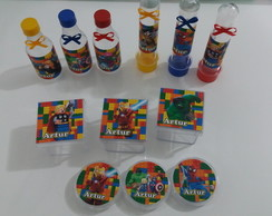 kit personalizados lego marvel